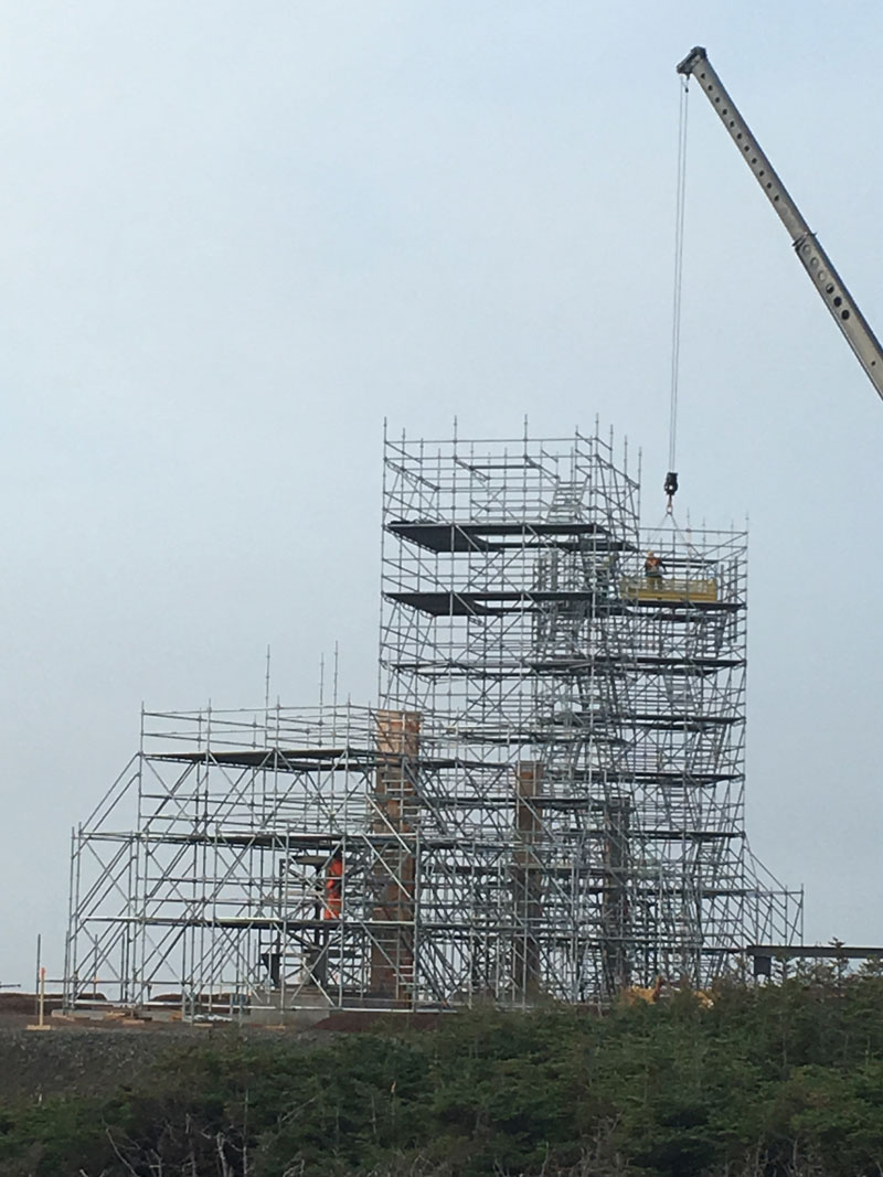 Projects isi industrial scaffold inc for Stair tower